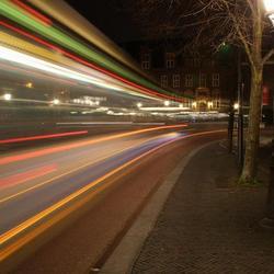 En weg is de bus...