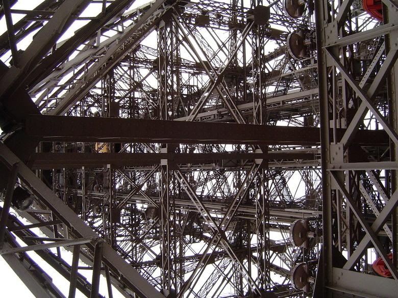 Eiffeltoren ... lijkt wel mecano - Eiffeltoren in Parijs<br /> Architect: Gustave Eiffel