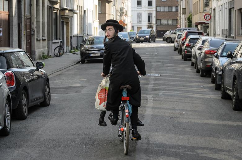 Joodse wijk Antwerpen -