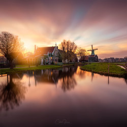 Autumn in Zaanse Schans