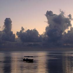 Strand & zee op Zanzibar