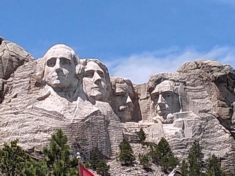 Monument voor de democratie - Mount rushmore national monument<br /> South Dakota