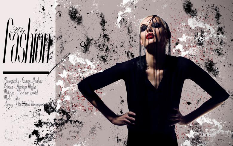 Ala Fashion - Photography: Ramon Heinhuis<br /> Model: Alve @ I Be model management<br /> MUA: Merel van Boxtel
