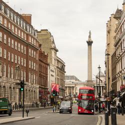 Londen - Whitehall - Trafalgar Square