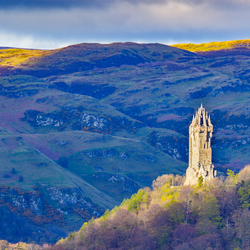 Wallace monument Stirling Schotland