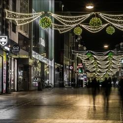 Herestraat by night
