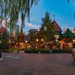 Fantasyland Disneyland Parijs