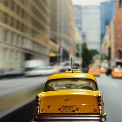 Yellow Cab in zijn natuurlijke habitat ;)