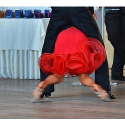 de danswedstrijd