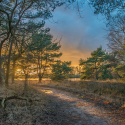 zonsondergang Pannenhoef