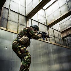 militaire schietoefening