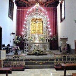 P1060686 Tenerife sfeer apart Kerkje in Laguna  21 mei 2019