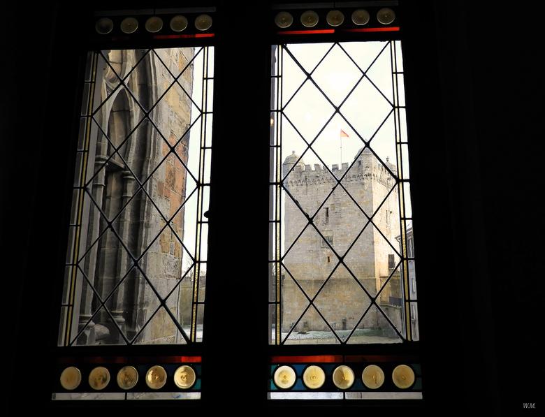 Doorkijkje - Zondag een bezoek gebracht aan het kasteel Bentheim in Bad Bentheim.Het kasteel Bentheim is de grootste hoogteburcht van Noordwest-Duitsl