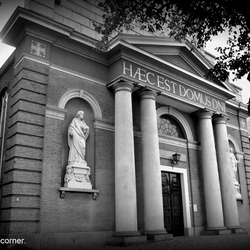 Mystic church.