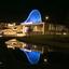 Atlas theater in Emmen met weerspiegeling