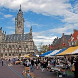 Markt in Middelburg