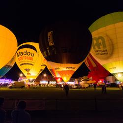 Nightglow Balloonmeeting Eeklo