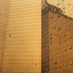 gouden gebouw