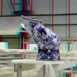 Blueware De Porceleyne Fles Delft 3D