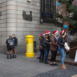 Kerst in Barcelona.