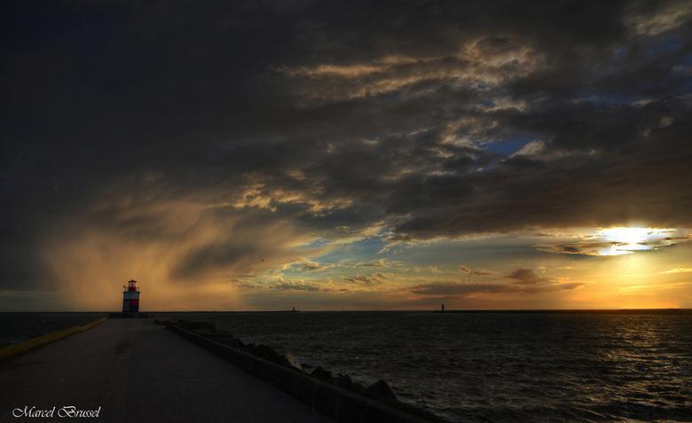Pier Noord - Pier Noord in wijk aan zee.