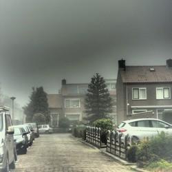 Lichte mist.