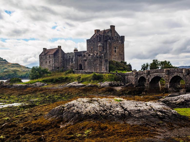 Eilean Donan Castle 3 - Dit is écht een kasteel dat je gezien moet hebben als je naar de Westkust van Schotland gaat. Veel fotogenieker dan deze krijg