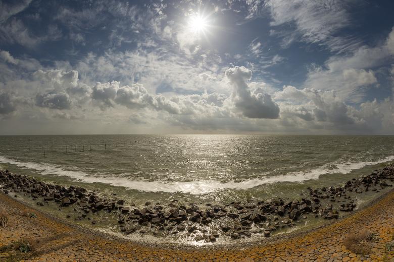 Seascape - Uitzicht vanuit de afsluitdijk