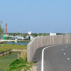 P1410858 Vlotwateringgebied nr14 doorkijk vleermuisbrug  15 sept 2016