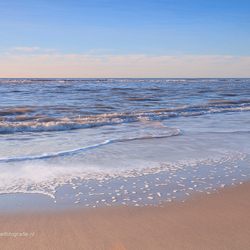 Beach at Camperduin . . .