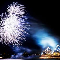 Vuurwerk in Sydney