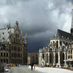Donderwolken boven Leuven