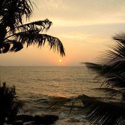 Srilanka zonsondergang