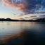 Avond over Vierwoudstedenmeer bij Luzern