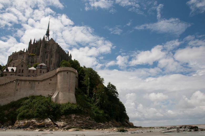 St. Mont Michel - Wat een prachtig plaatsje! Abbeye St. Mont Michel, ongeveer een kilometer vanaf de Normandische kust. <br /> <br /> Deze foto maak