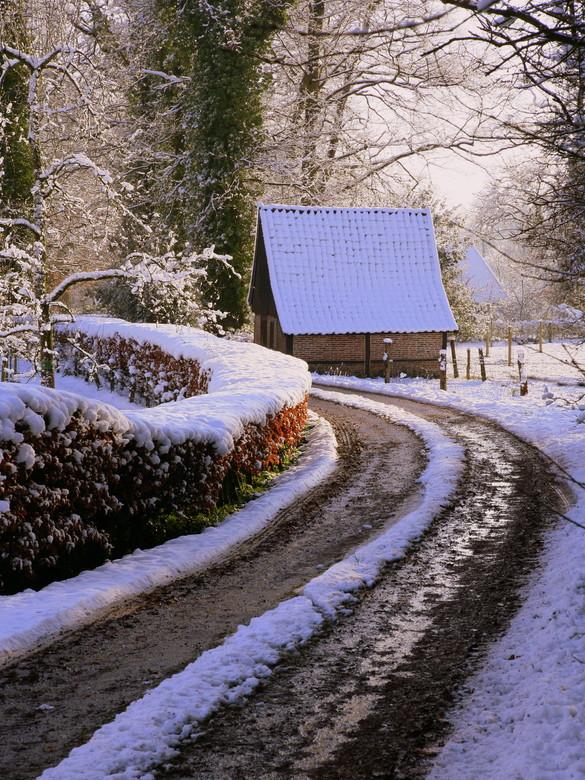 lijnenspel - dooiende sneeuw ........