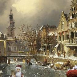 Witte Kerst in Alkmaar