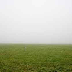 Amsterdam landelijk Noord in de mist - 2