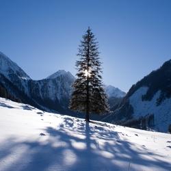 Winter in Oostenrijk