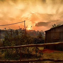 sunset Mantasoa