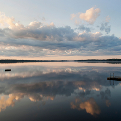 Sunrise @ Lake Asnen - Sweden