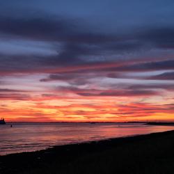 Sunset @ Westerschelde