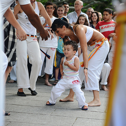 Capoeira starts young