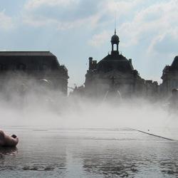 Le Miroir d'eau, Place de la Bourse, Bordeaux