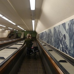 roltrappen Maastunnel