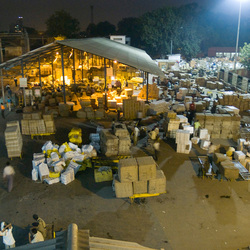 Pakkettendepot New Dehli treinstation