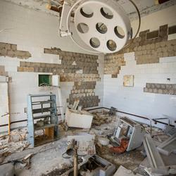 Prypiat (verdrijvingszone Tsjernobyl - Oekraïne) - Ziekenhuis - Operatiekamer
