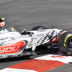 Liuzzi in Sainte Devote, Monaco