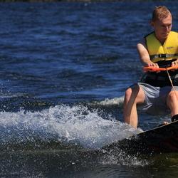Wakeboarden op het Gooimeer