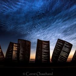 Nachtwolken monument.